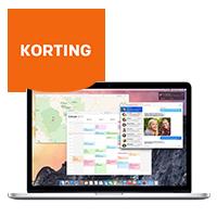 Hoge korting op MacBook Pro 13''