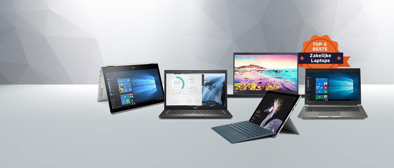 De beste laptops voor zakelijk gebruik