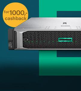 1000,- cashback bij aanschaf van een HPE ProLiant server met Windows Server 2019