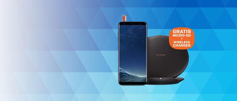 GRATIS geheugenkaart + Wireless Charger