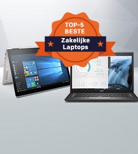 Top-5 zakelijke laptops 2018