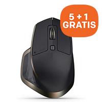 Logitech 5+1 GRATIS actie op MX muizen