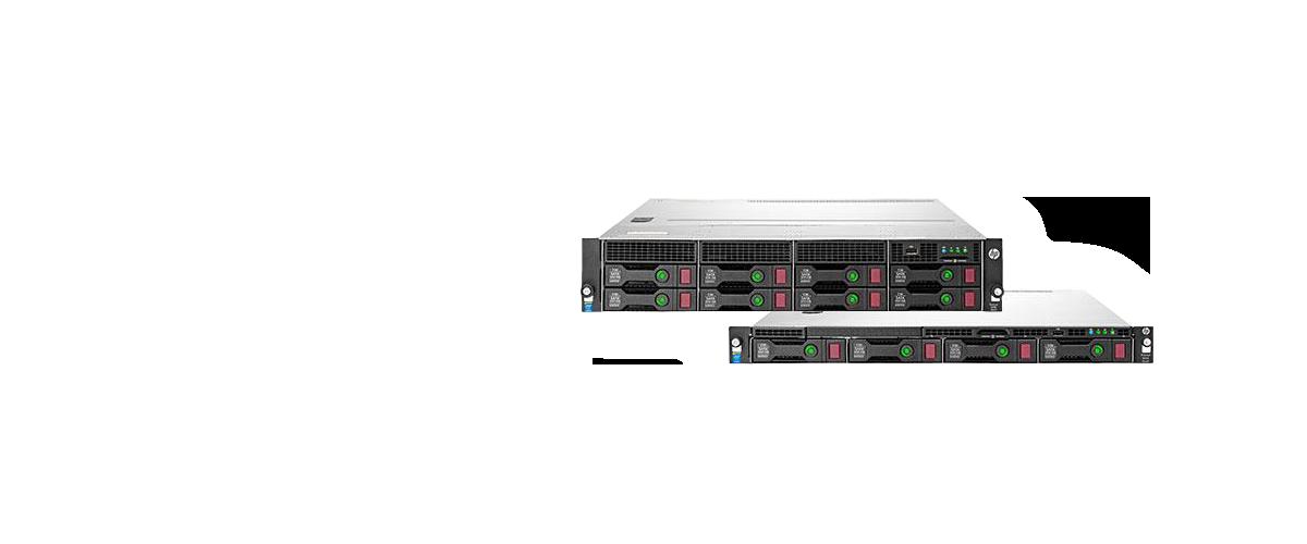 HP ProLiant DL Gen9 serie