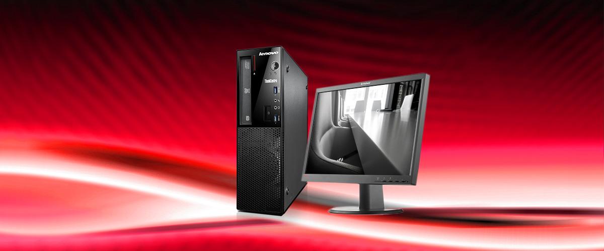 """Bundel-  voordeel op Lenovo PC + 22"""" monitor"""