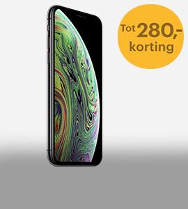 Nu tot 280,- korting op iPhone Xs 64GB en 256GB