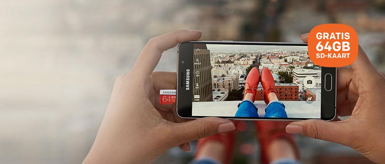 Samsung Galaxy A3 en A5 met GRATIS 64GB micro SD-kaart