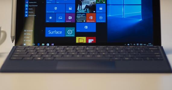 200,- voordeel met de Microsoft Surface Pro 4 bundel