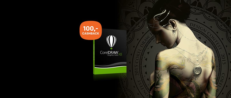 Cashback op CorelDraw Graphics Suite X8