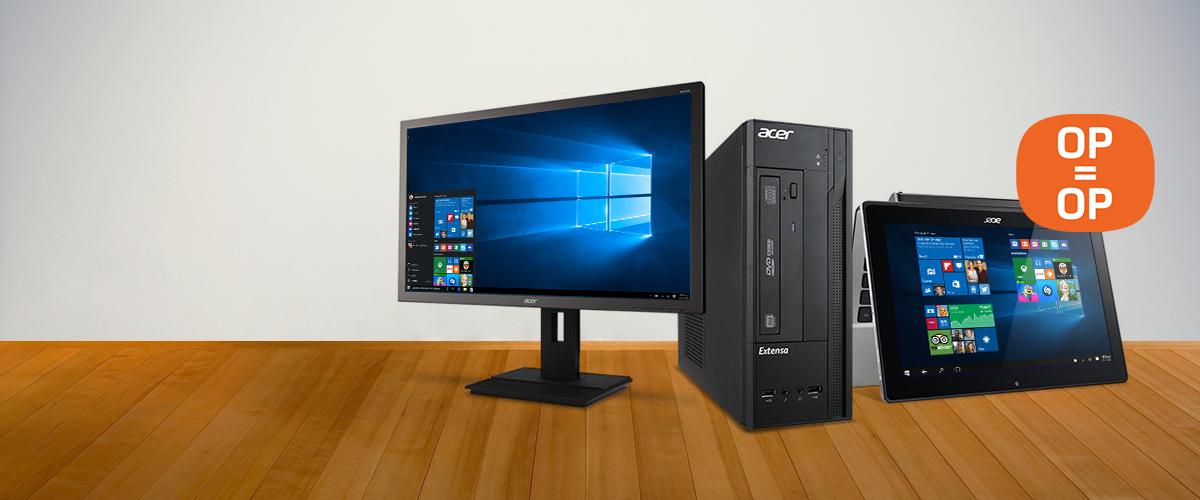 Acer deals op zakelijke producten