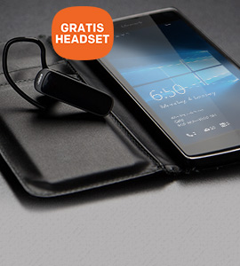 Microsoft Lumia 650 smartphone met GRATIS Jabra headset