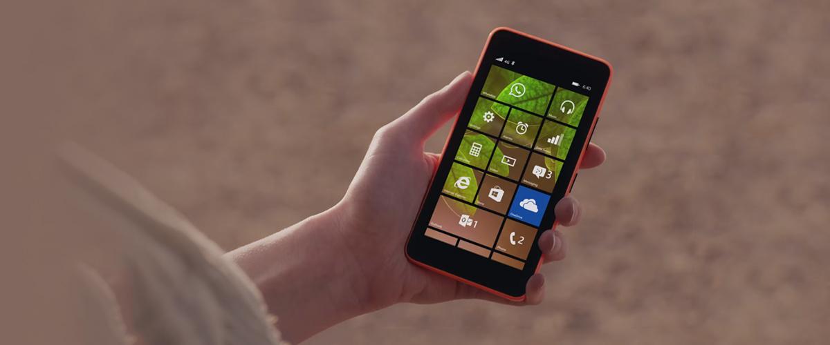 De Microsoft Lumia 640