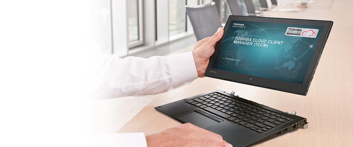 Nieuwe Toshiba 2-in-1 Portégé laptop