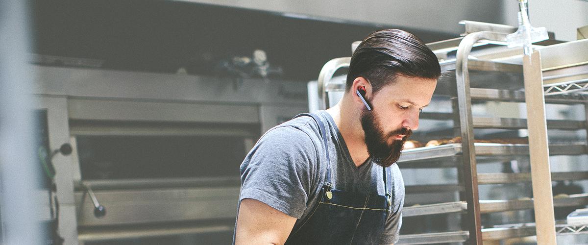 Jabra Stealth UC headset