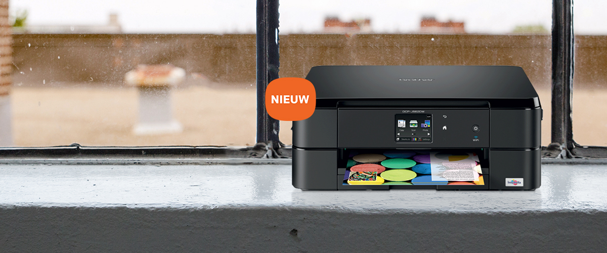 Nieuwe Brother all-in-one inkjetprinters
