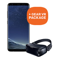GRATIS VR package bij een Samsung Galaxy s8 en s8 plus