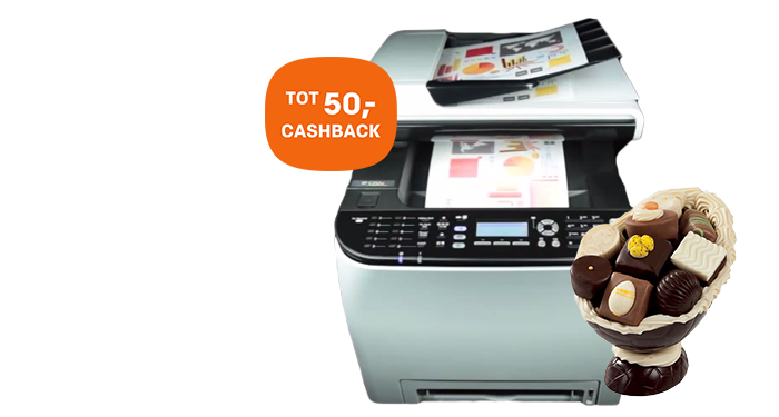 Ricoh Cashback paasactie