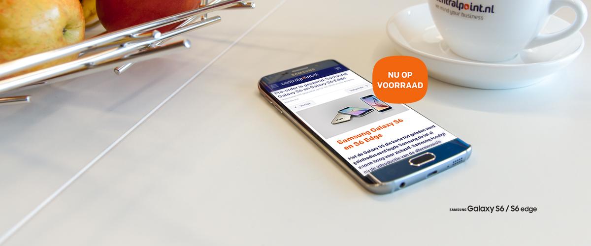 Nu op voorraad: Samsung Galaxy S6 en S6 Edge