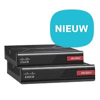 Nieuw: Cisco firewall ASA