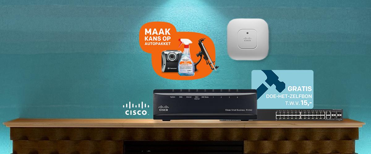 Flinke Cisco vaderdagsactie