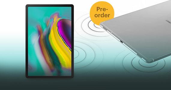 Pre-order nu de Samsung Galaxy Tab S5e