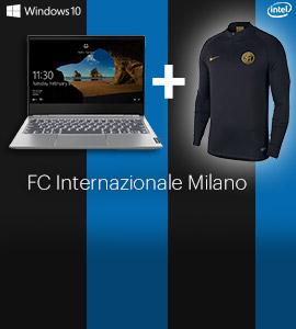 Gratis Inter shirt bij aankoop van een Lenovo laptop of pc