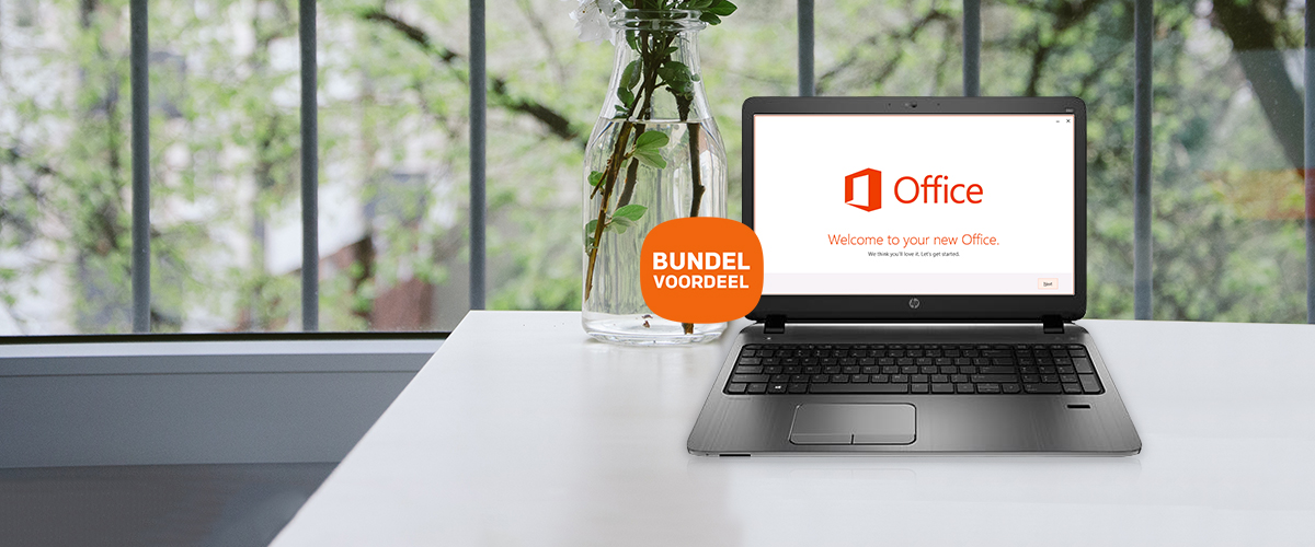 HP & Microsoft Office bundel