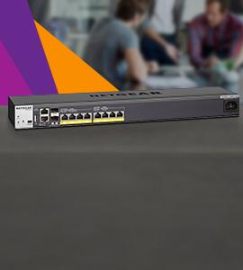NETGEAR ProSAFE managed switches lancering