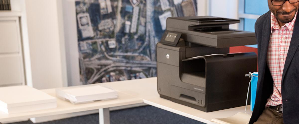 Tot wel 40,- cashback op HP  Officejet Pro Multifunctional printers!