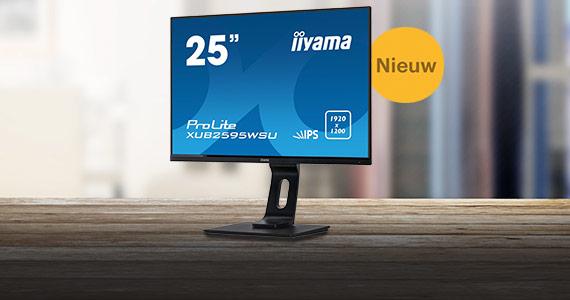 Nieuw: iiyama ProLite XUB2595WSU 25