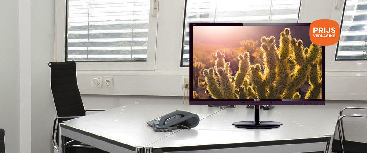Voordelige Philips 23.8'' monitor