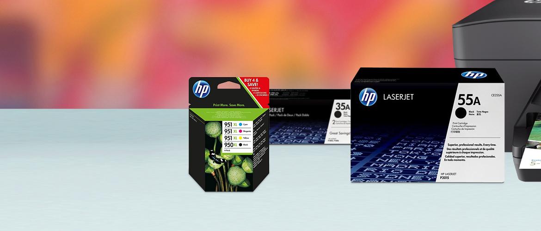 Alles op een rijtje over HP inkt en toner cartridges