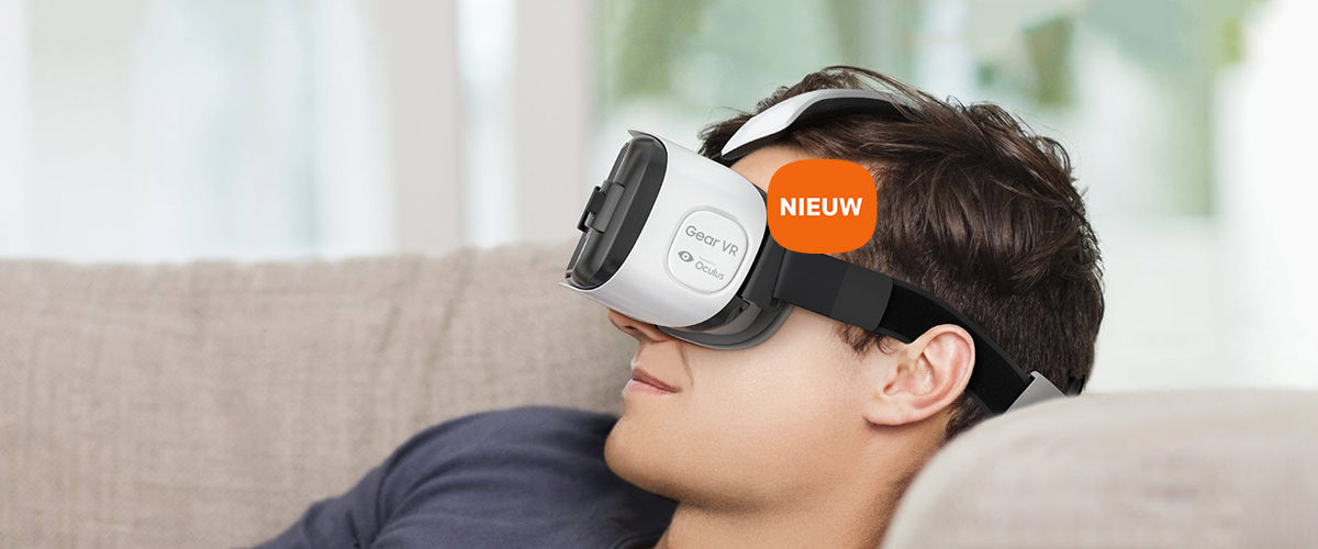 Virtual reality headset voor Galaxy S6 serie