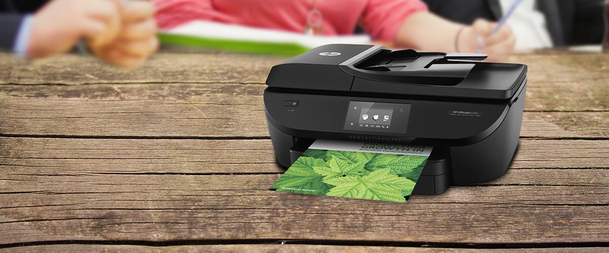 Verhoog de productiviteit met de Officejet MFP printer oplossingen van HP