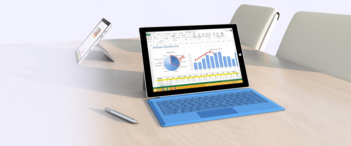 Accessoires voor uw Microsoft Surface Pro 3