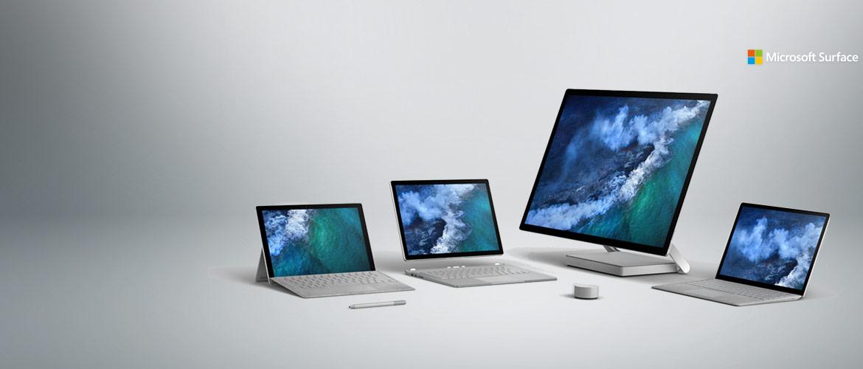 Maak kennis met de Microsoft Surface familie