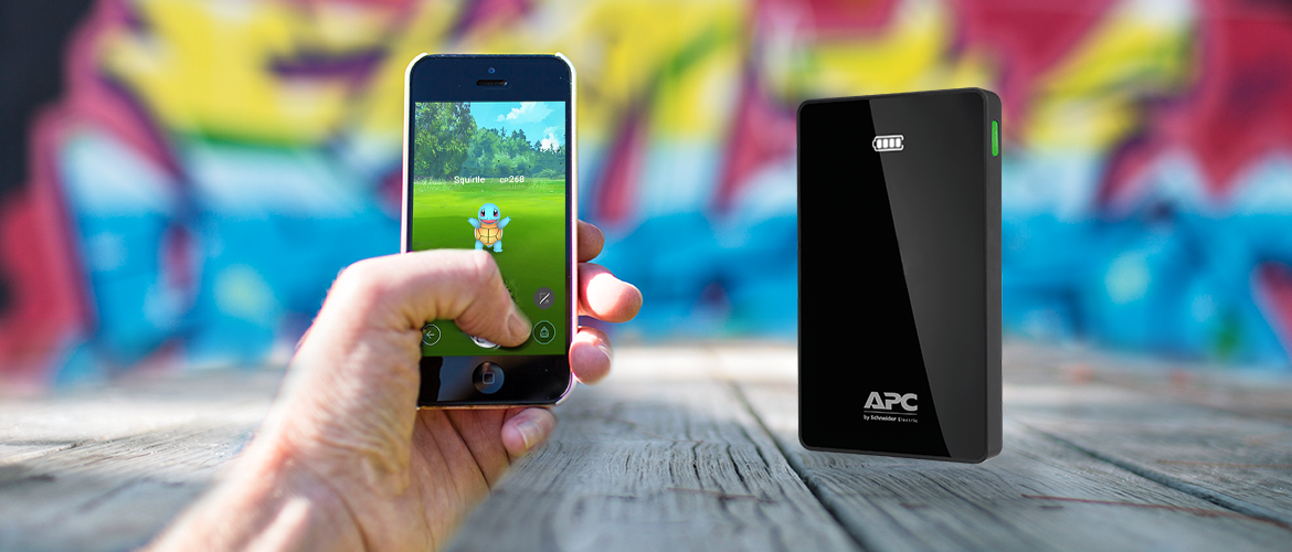 APC Mobile Power Packs voor power on the go