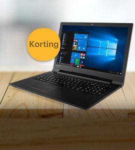 Korting op Lenovo laptops
