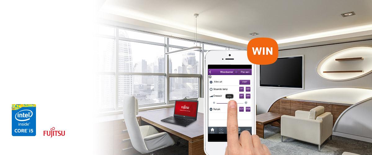 GRATIS Smart Home kit bij uw Fujitsu laptop