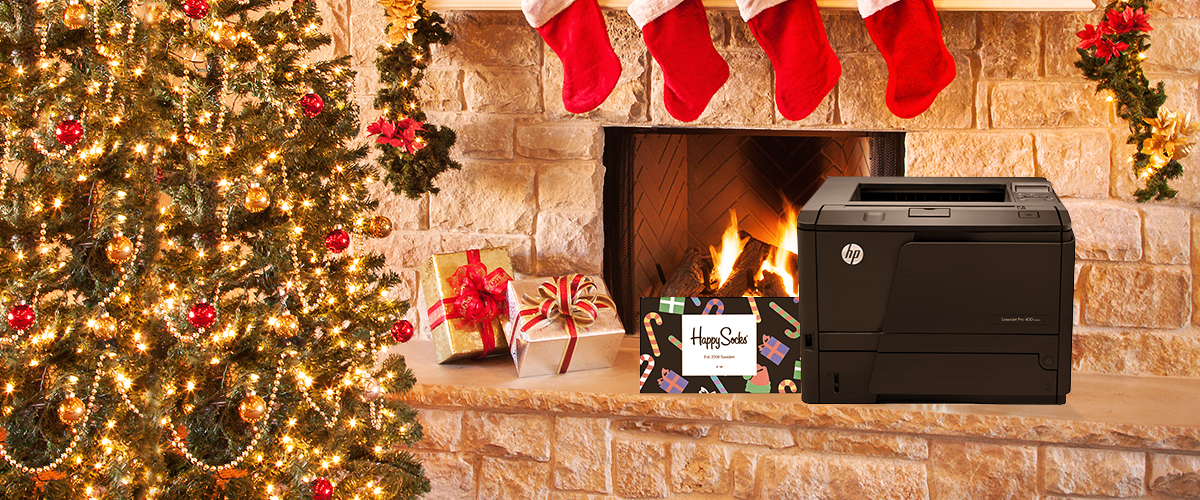 Kom in de kerstsfeer met HP LaserJet printers