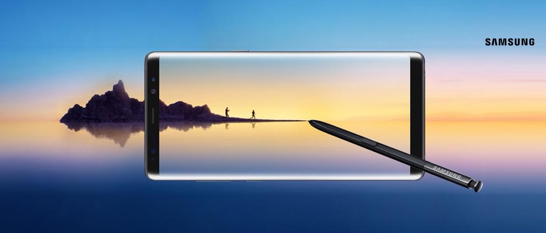 Bestel nu de nieuwe Galaxy Note 8