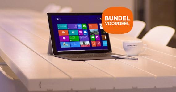 Uitzonderlijk voordeel op Surface Pro 3 i.c.m. Type Cover