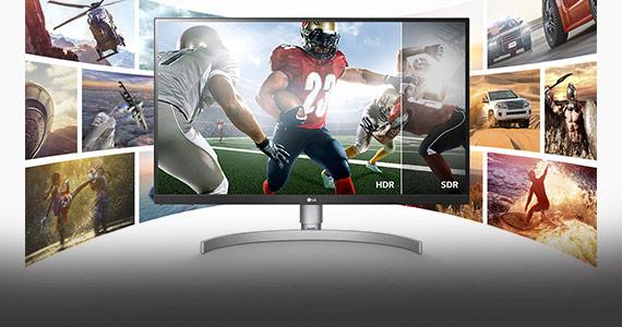 LG 4K monitor met UHD