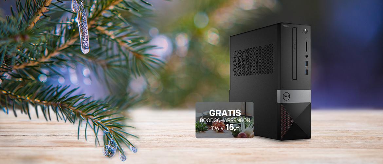 Koop uw Dell Vostro pc en krijg 15,- boodschappentegoed voor de kerst