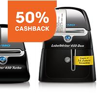 DYMO LabelWriters cashback
