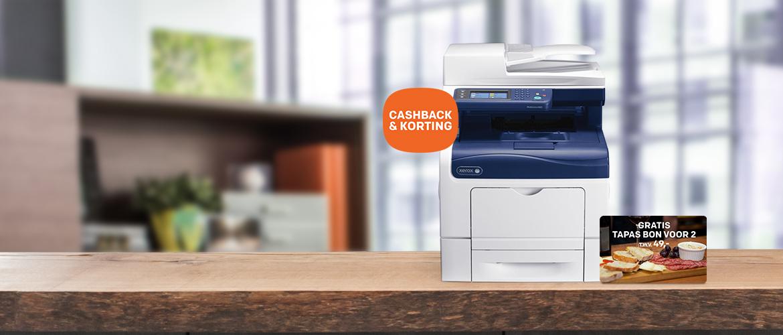 Grandioze Xerox printeractie: beste prijs + tapas voor 2