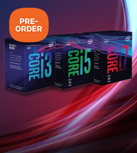 Nieuw: Intel Coffee Lake