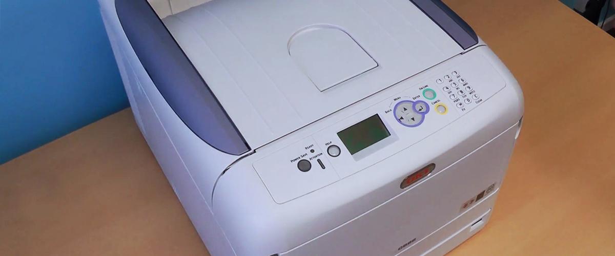 Tot 200,- cashback op OKI printers
