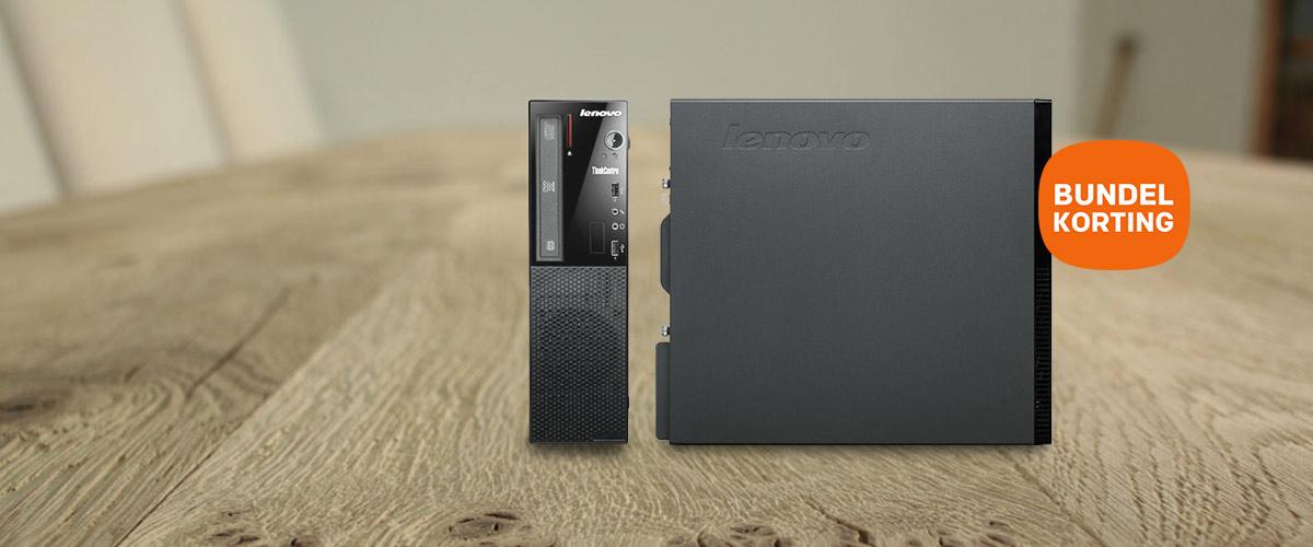 Zéér veel Bundelkorting op de Lenovo ThinkCentre