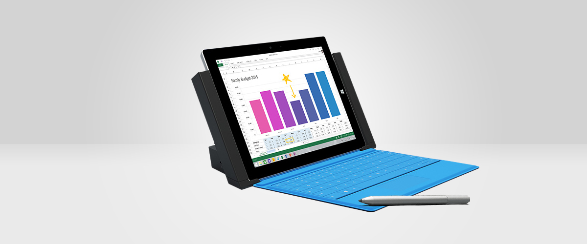 Microsoft Surface 3 accessoires