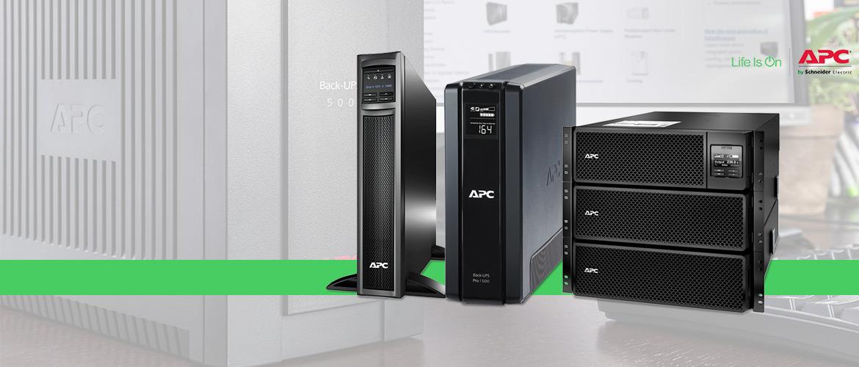 APC UPS noodstroom systemen